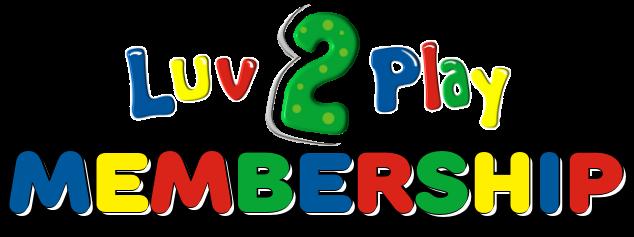 Luv 2 Play Membership Logo